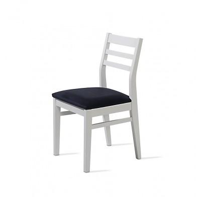 Cadeira Rio - Estofo Fancy Blue
