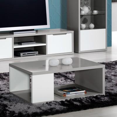 Mesa de Centro Viena - Cinza/Branco