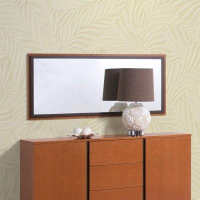 Espelho de Sala Chiado - Pinho Mel/Wengué