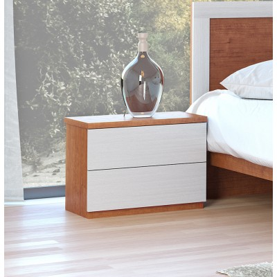 Mesa de Cabeceira IZI - Cerejeira/Branco
