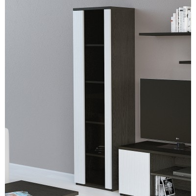 Cristaleira IZI - Preto/Branco
