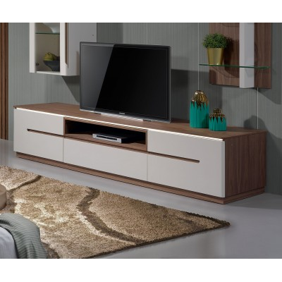 Base TV Kenzo - Nogueira/Branco
