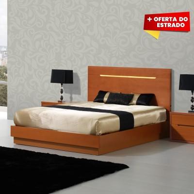Cama de Casal Viena - Faia 200x150