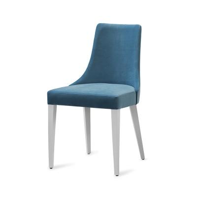 Cadeira Sky - Estofo Supersoft Turquoise