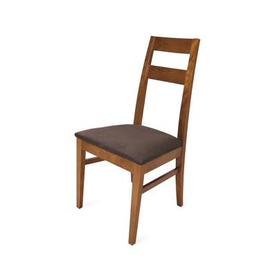 Cadeira Chiado - Estofo Supersoft Chocolate