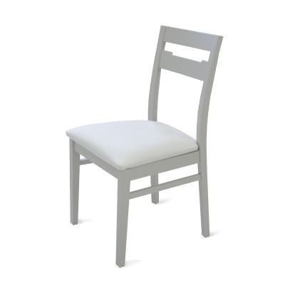 Cadeira Viena -  Estofo Imola White 9